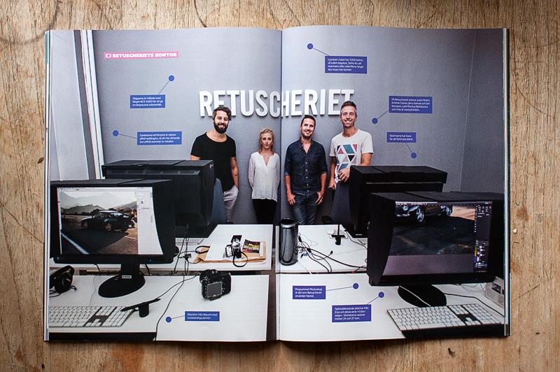 Ett reportage om Retuscheriet i tidningen Kamera & Bild